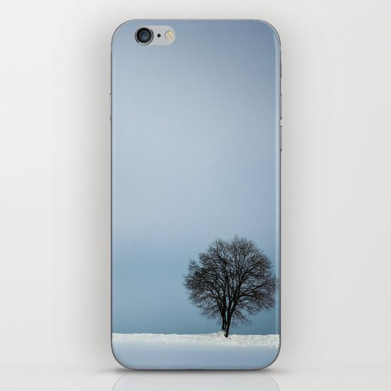 winterminimalism iPhone Skin