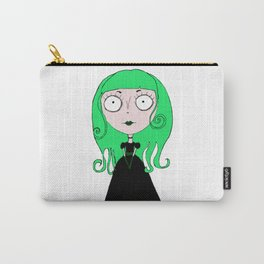 Gothic girl Carry-All Pouch