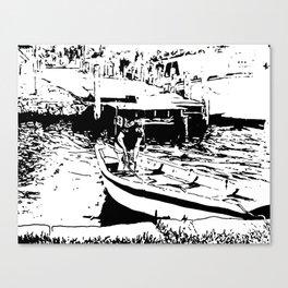 Let's sail away Canvas Print