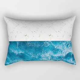 Beach Themed  Rectangular Pillow