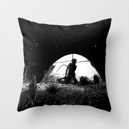 asc 455 - L'obscure clarté (The She-Wolf) Throw Pillow