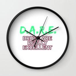 Empowerment Excellence Tshirt Design Excellence blood veins Wall Clock