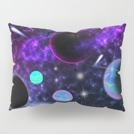My Lover Is From Outer Space Pillow Sham
