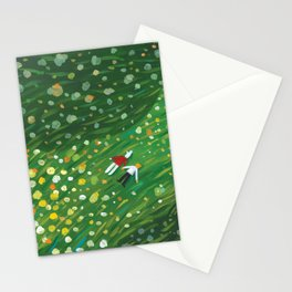 Flower Floor 001 Stationery Cards