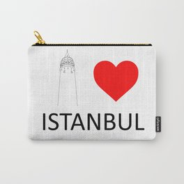 I Love Istanbul Carry-All Pouch