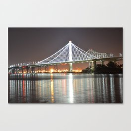 The new Bay Bridge Canvas Print