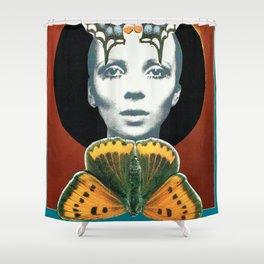 Penelope Tree Shower Curtain