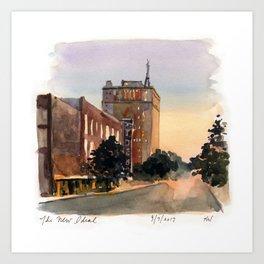 Birmingham - Ideal Tile Art Print