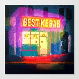 Kebab Canvas Print