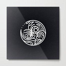 Figure of Jazz    Zen Doodle Metal Print