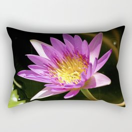 Pink Waterlily - Vizcaya Rectangular Pillow