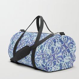 Spiral Snowbursts Pattern Duffle Bag