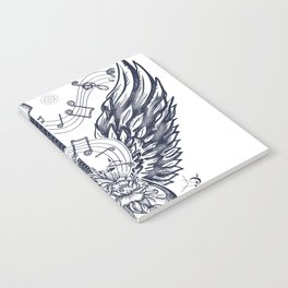 Guitar and wings Notebook