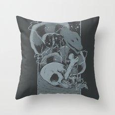 Eelectric Throw Pillow