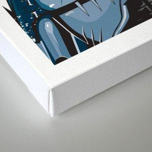 Robocop In Love Canvas Print