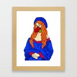 Beauty Undercover Framed Art Print
