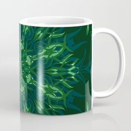 Dark Forest Colors - Mosaic - Version 2.0 Coffee Mug