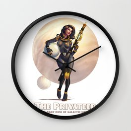 The Privateer Wall Clock