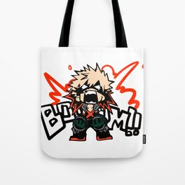 Katsuki Bakugo Booom My Hero Academia Tote Bag