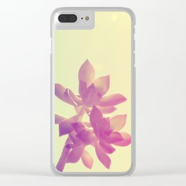 Fat Yellow Clear iPhone Case