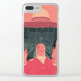 The Other Side of the Wall Clear iPhone Case
