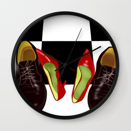 Shoeday Wall Clock
