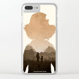 Clementine (TWD) Clear iPhone Case