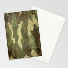 Dirty Camo Stationery Cards