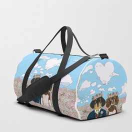 Dachshund Lovers - Honeymoon Duffle Bag
