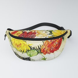 Flowers by Gerda Wegener - Vintage Painting Fanny Pack