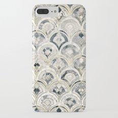 Monochrome Art Deco Marble Tiles iPhone 7 Plus Slim Case