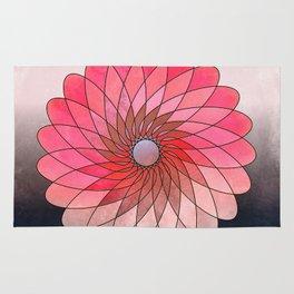 Pink shining gyro Rug