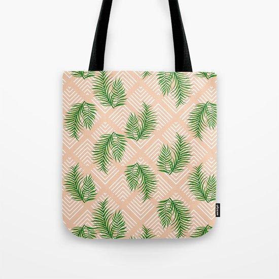 Geometries & Palms #society6 #decor #buyart Tote Bag