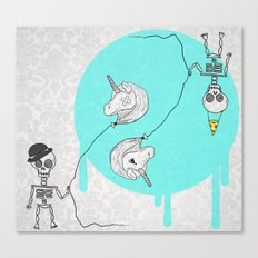 Skeletonia Canvas Print