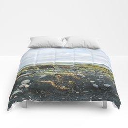 Volcanic Landscape Comforters