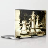chess Laptop & iPad Skins featuring Chess by James Peart
