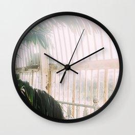 Palm Tree Humid Palm House Wall Clock