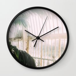 Palm Tree Humid Palm House Wall Clock