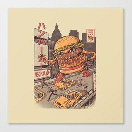 Burgerzilla Leinwanddruck