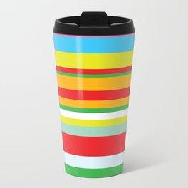 Colorful stripes Travel Mug