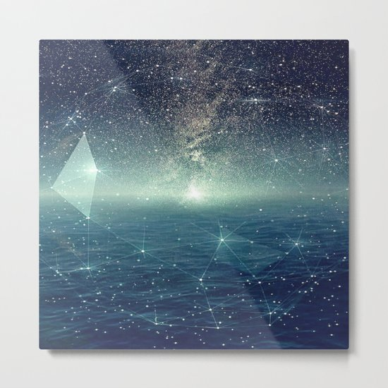 ...The Stars, Look How They Shine For You Metal Print