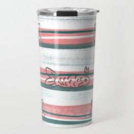 sandia con peces Travel Mug