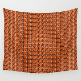 8-bit bricks Wall Tapestry