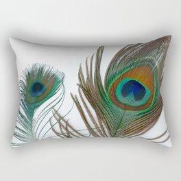 Peakock's Feathers Rectangular Pillow