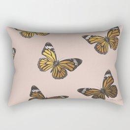 Monarch butterflies Rectangular Pillow