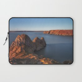 Rugged Three Cliffs Bay and the Great Tor Laptop Sleeve