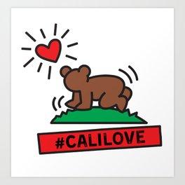 #CaliLove Art Print