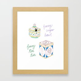 Fancy Things Framed Art Print