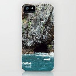 Ocean caves iPhone Case