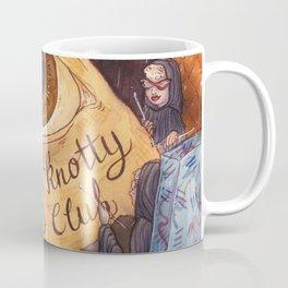 Illumi-Knotty Knitter's Club Coffee Mug